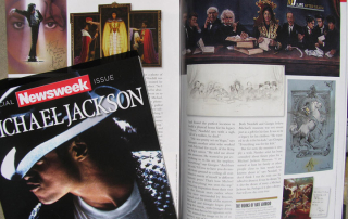 MJ Newsweek Tribute