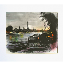 Paris Original Painting