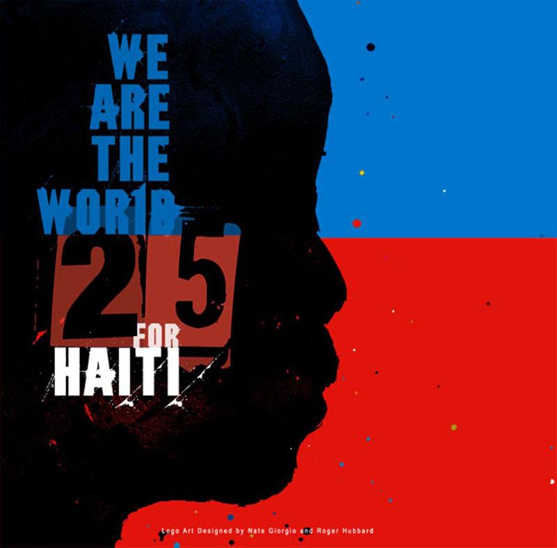 Haiti 25 Logo