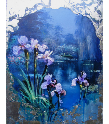 Water Garden Original Painting