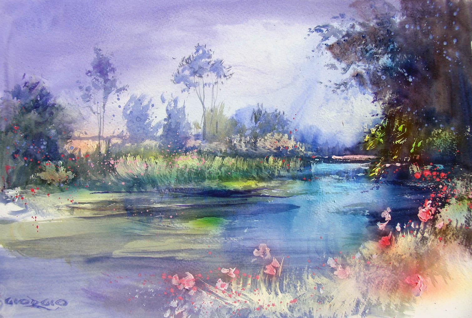 Soft Landscape Study